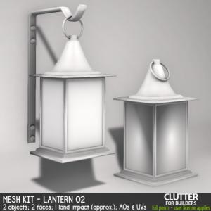 Clutter - Mesh Kit - Lantern 02 - ad