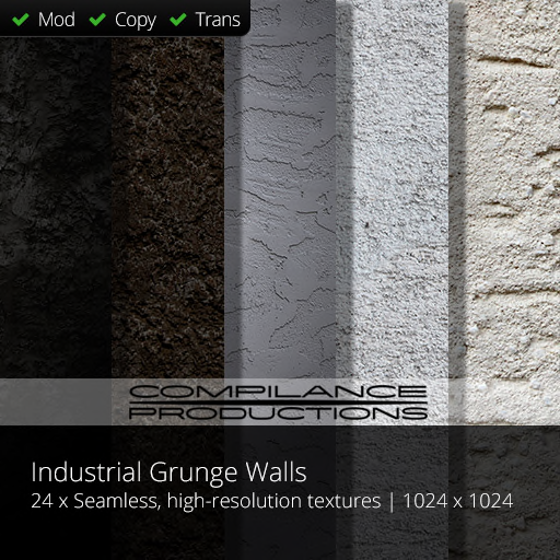 Compilance Industrial Grunge Walls with Effects