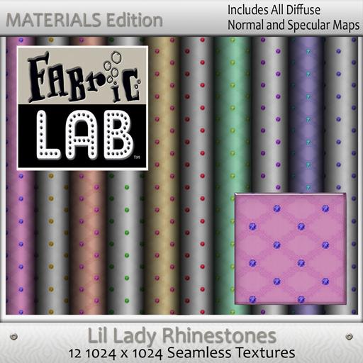 FL ME Lil Lady Rhinestone Set
