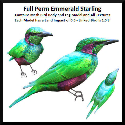 Full Perm Emmerald Starling Ad