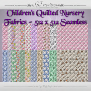 GFC-Childrens-Quilted Nursery Fabrics - Ad
