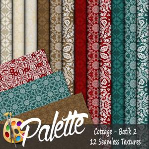 Palette - Cottage Batik 2 Ad