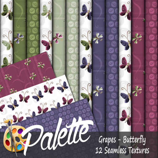 Palette - Grapes Butterfly Ad