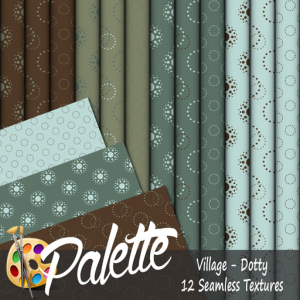Palette - Village Dotty Ad