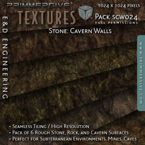 E&D ENGINEERING_ Textures - Stone Cavern Walls SCW024_