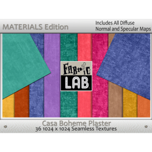 Fabric Lab Casa Boheme Plaster Materials Edition