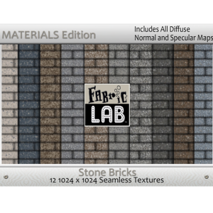 Fabric Stone Brick Materials Edition