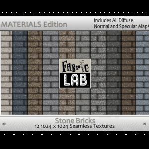 Fabric Stone Brick Materials Edition
