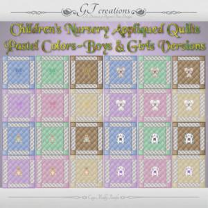 GFC-Childrens NurseryAppliques Quilts-Ad
