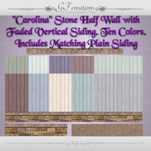 GFC-Exterior Vertical Siding withCarolina Stone-Ad