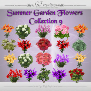 GFC-Summer Garden Flowers Collection 9 - Ad