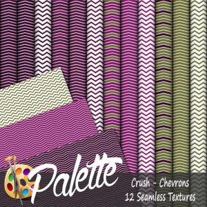 Palette - Crush Chevrons Ad