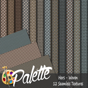 Palette - Hers Woven Ad