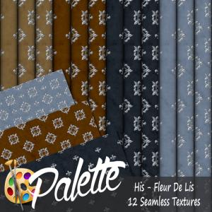 Palette - His Fleur De Lis Ad
