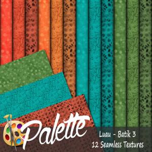Palette - Luau Batik 3 Ad
