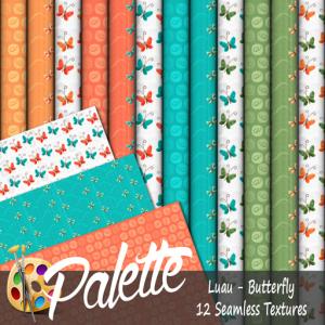 Palette - Luau Butterfly Ad