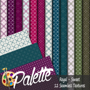Palette - Regal Sweet Ad