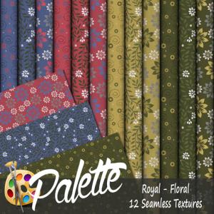 Palette - Royal Floral Ad