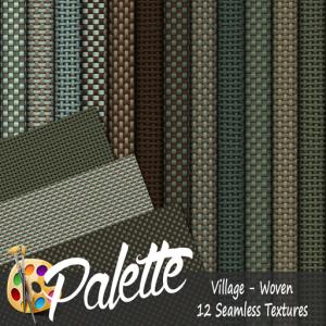 Palette - Village Woven Ad