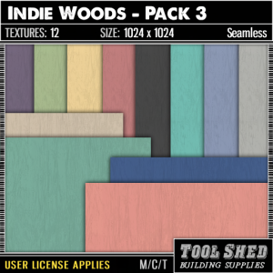 Tool Shed - Indie Woods - Pack 3 Ad
