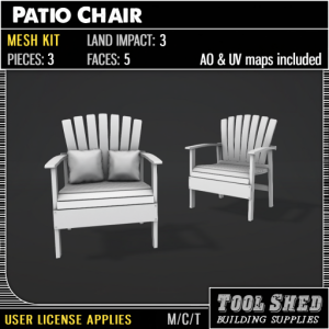 Tool Shed - Patio Chair Mesh Kit Ad