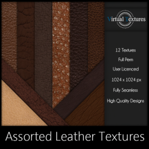 [VT] Assorted Leather Textures