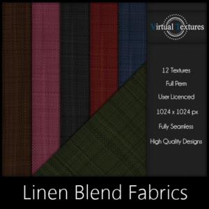 [VT] Linen Blends Fabrics