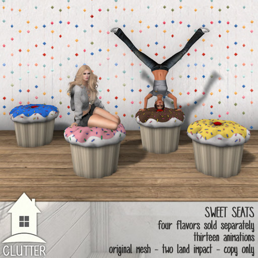 Clutter Home - Sweet Seats - ad