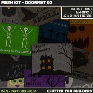 Clutter - Mesh Kit - Doormat 02 - ad