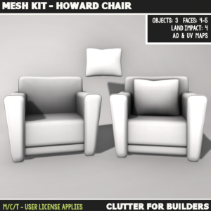 Clutter - Mesh Kit - Howard Chair - ad