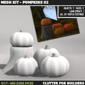 Clutter - Mesh Kit - Pumpkins 02 - ad