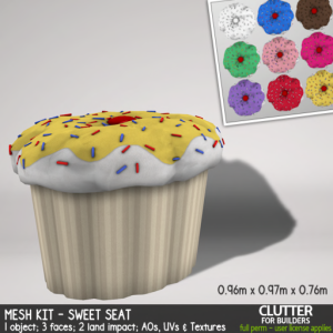 Clutter - Mesh Kit - Sweet Seat - ad