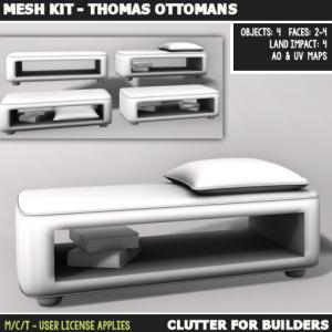 Clutter - Mesh Kit - Thomas Ottomans - ad