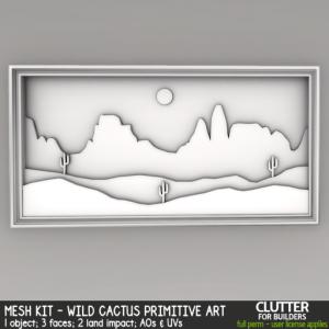 Clutter - Mesh Kit - Wild Desert Primitive Art - ad