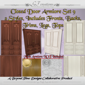 GFC-Closed Door Armiore - Set 9 -Ad