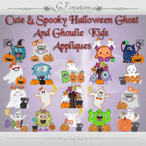 GFC-Ghosts & Gouls Applique Set