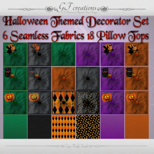 GFC-Halloween Themed Decorator Set - Ad