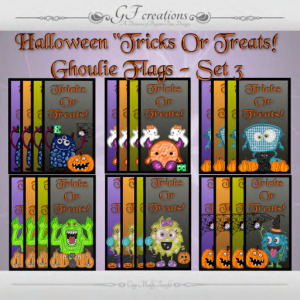 GFC-Halloween Tricks-or-Treats-Flags -Ad