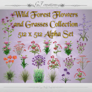 GFC-Wild Forest Flowers and Grasses Collection - Ad
