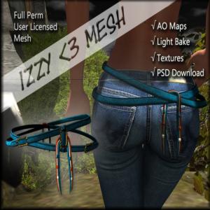 Izzy _3 Mesh - Southwest Belt