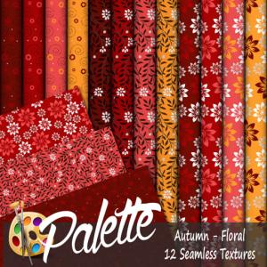 Palette - Autumn Floral Ad