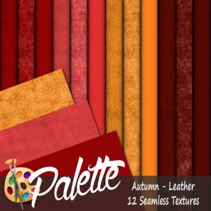 Palette - Autumn Leather Ad