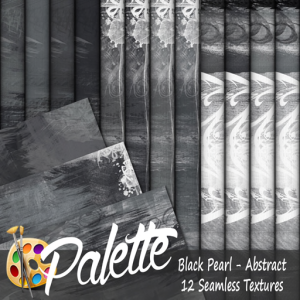Palette - Black Pearl Abstract Ad