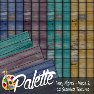 Palette - Fairy Nights Wood 2 Ad