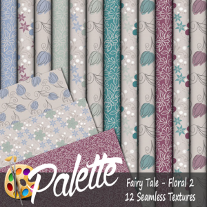 Palette - Fairy Tale Floral 2 Ad