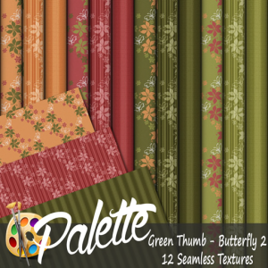 Palette - Green Thumb Butterfly 2 Ad
