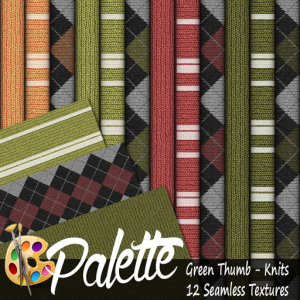 Palette - Green Thumb Knits Ad