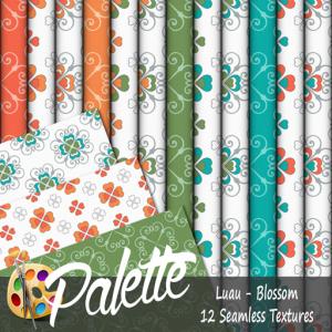 Palette - Luau Blossom Ad