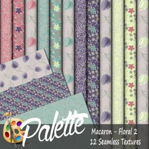 Palette - Macaron Floral 2 Ad