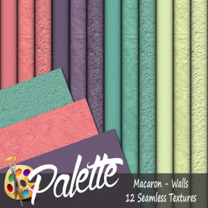 Palette - Macaron Walls Ad